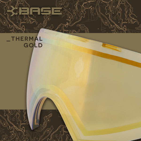 Base Replacement Lens - Thermal Gold