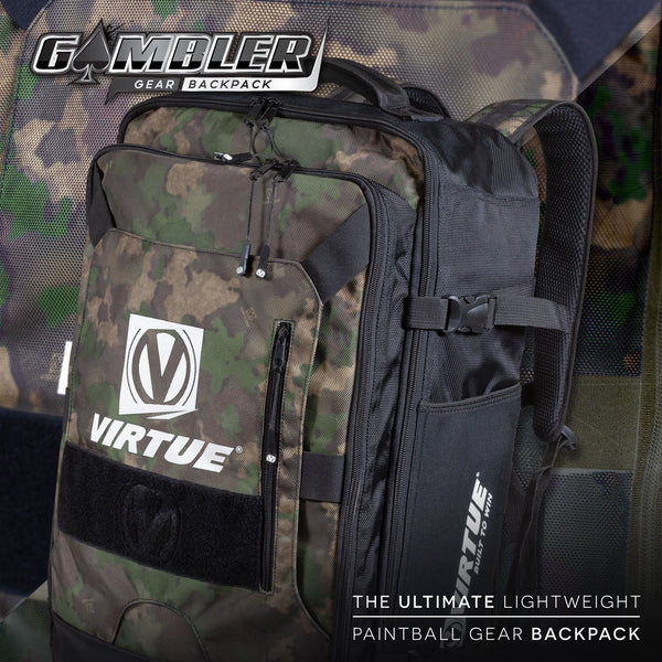 Virtue Gambler Backpack & Gear Bag - Reality Brush Camo