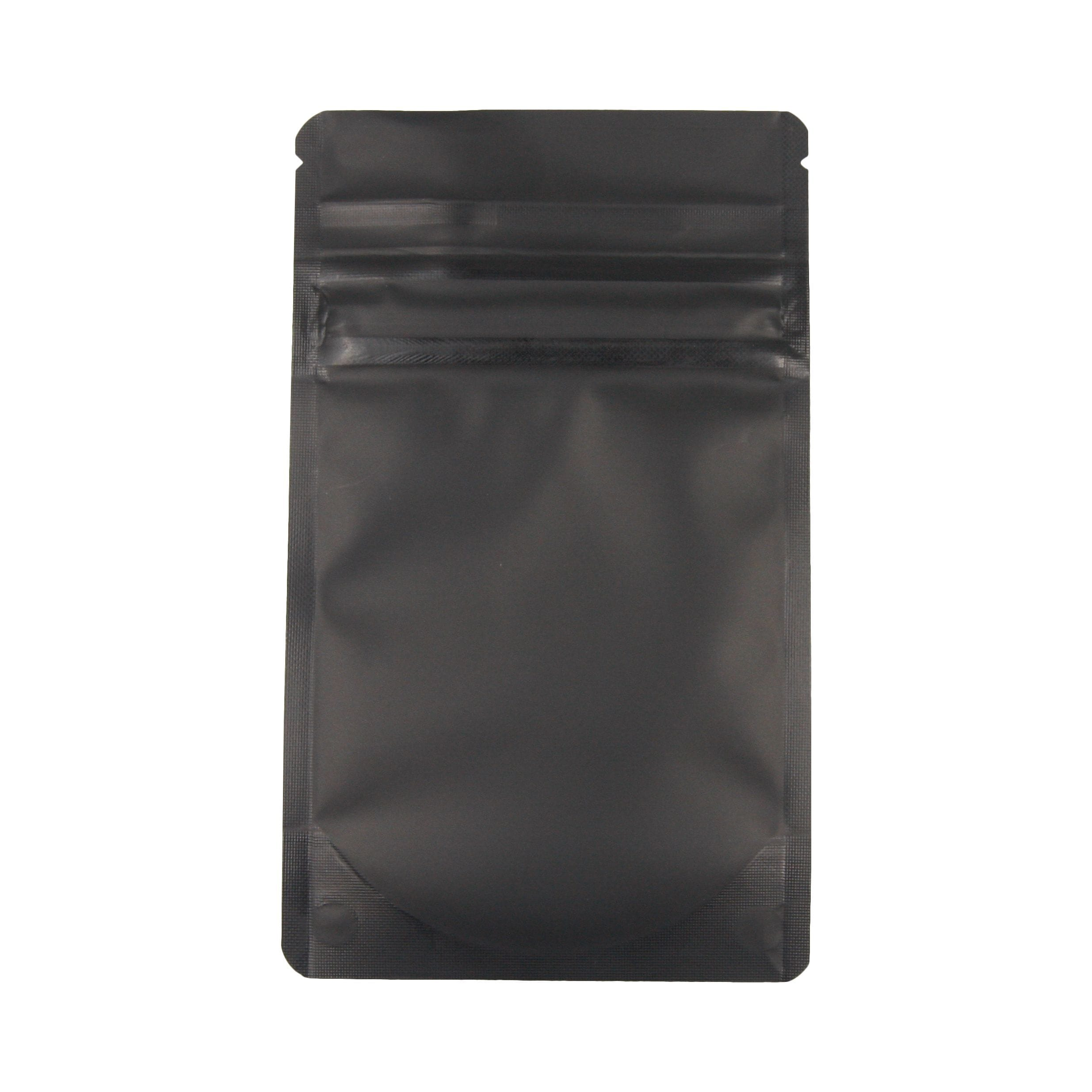 Bag King Child-Resistant Opaque Mylar Bag (1/8th oz) Matte Black