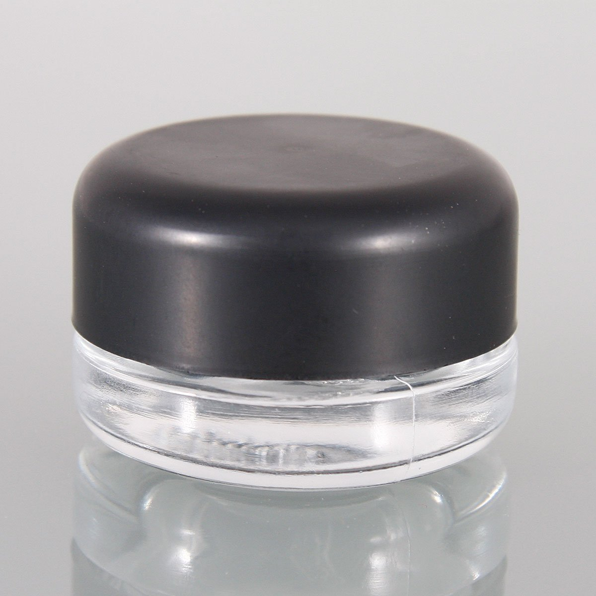 Child Resistant 5ml Glass Concentrate Jar (3-4 grams) Black