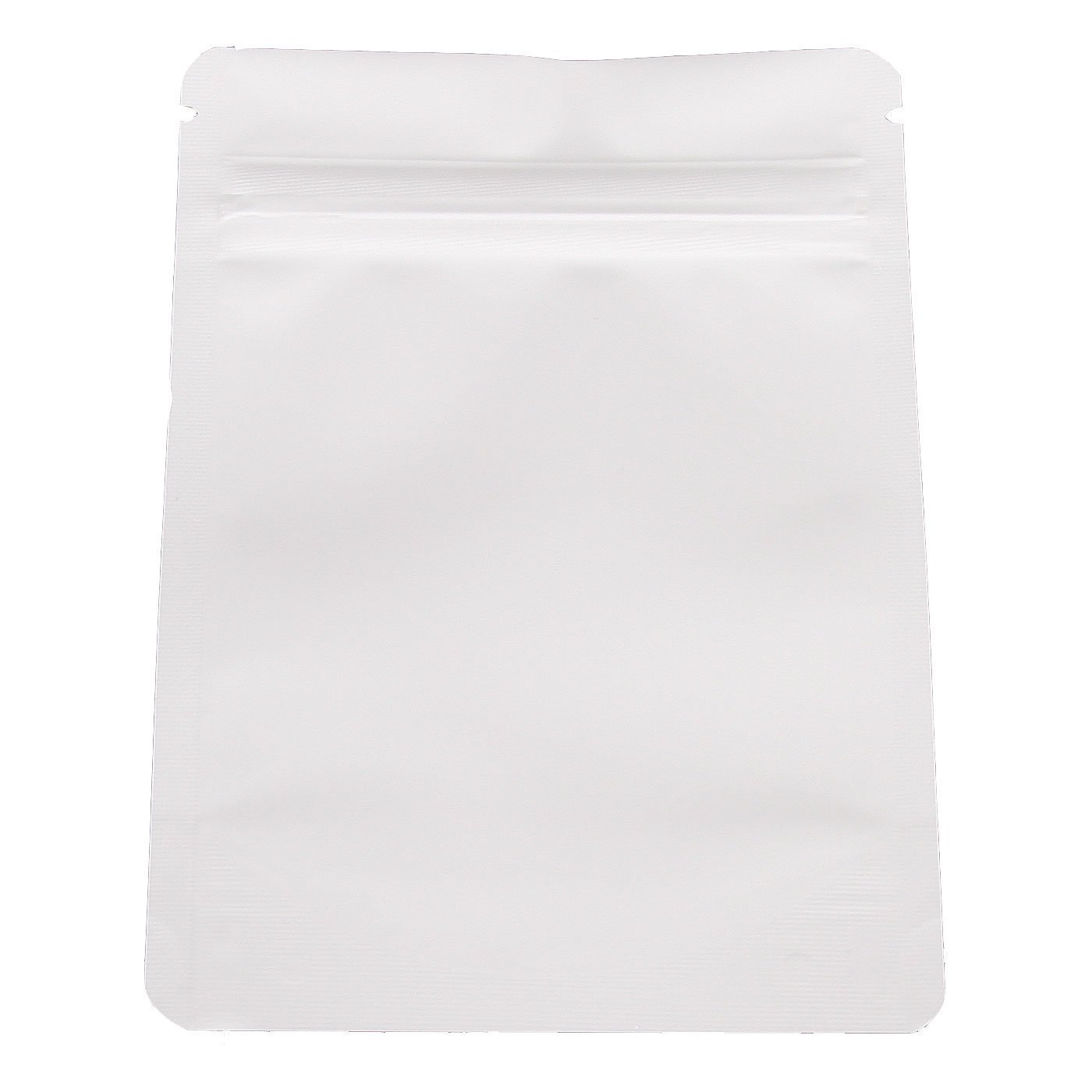 Smell Proof Mylar Bag (Eighth Ounce) White