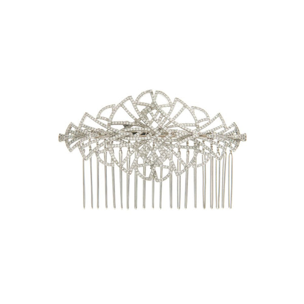 Art deco inspired empire bride comb