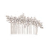 hair comb with swarovski crystal