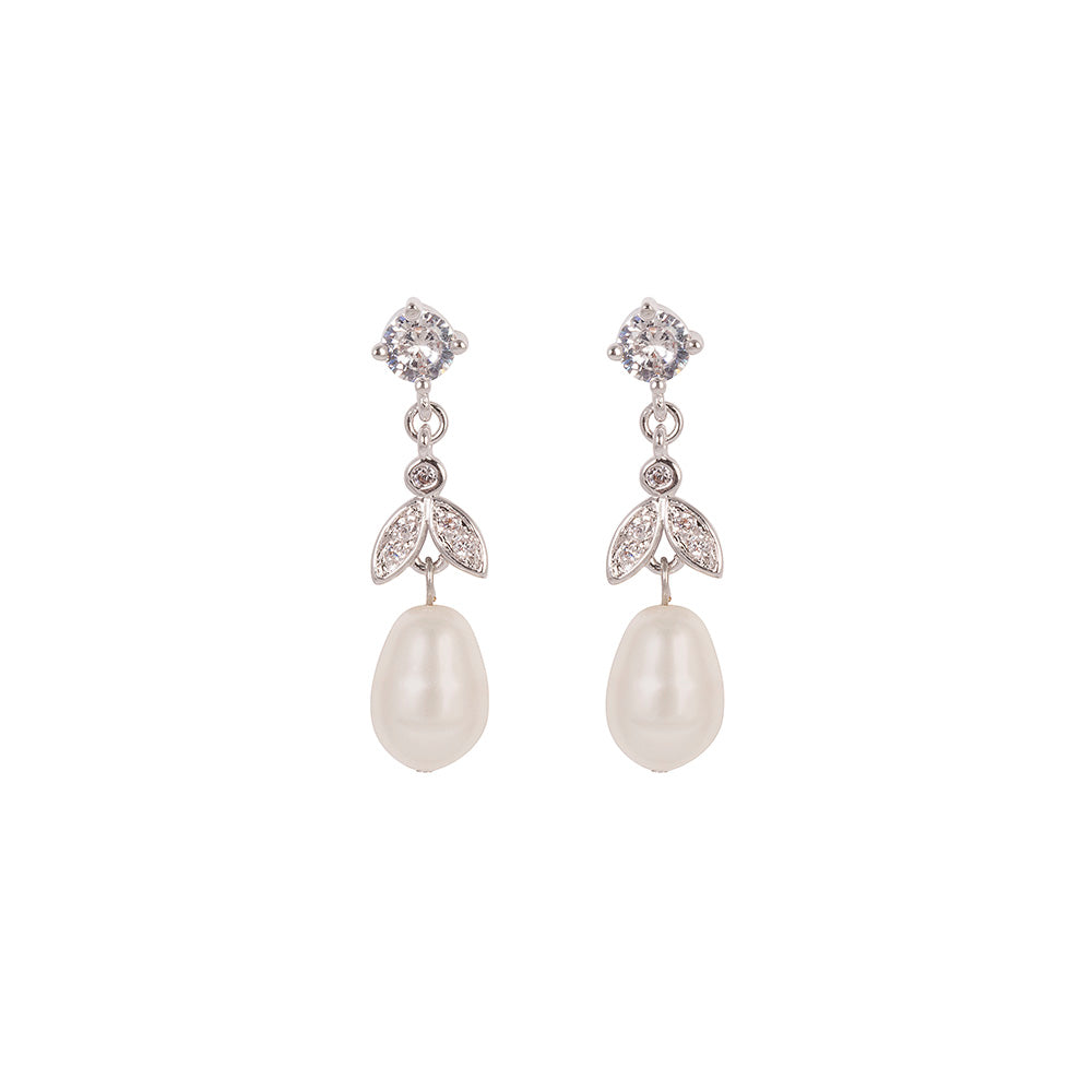 freshwater earrings peral stud pearl pink