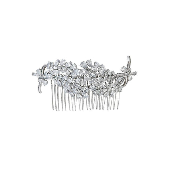gorgeous wedding hair comb