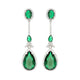 Alexandra Emerald Earrings