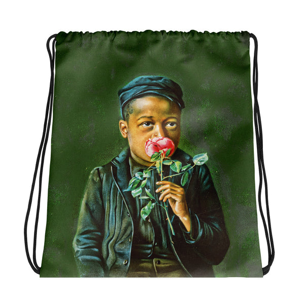 American Beauty - Drawstring Bag