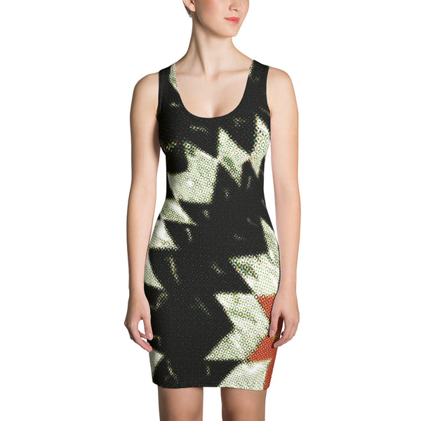 Dark Burst Sublimation Cut & Sew Dress - Women's