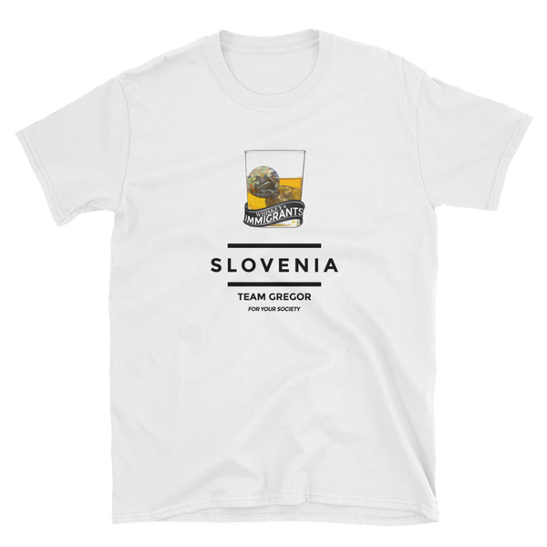 Whiskey & Immigrants / Slovenia / Team Gregor - Unisex T-Shirt