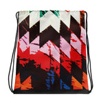 Color Burst Drawstring Bag