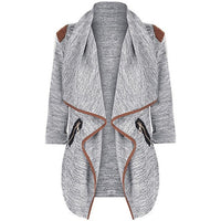Vintage Knitted Long Cardigan - Women's