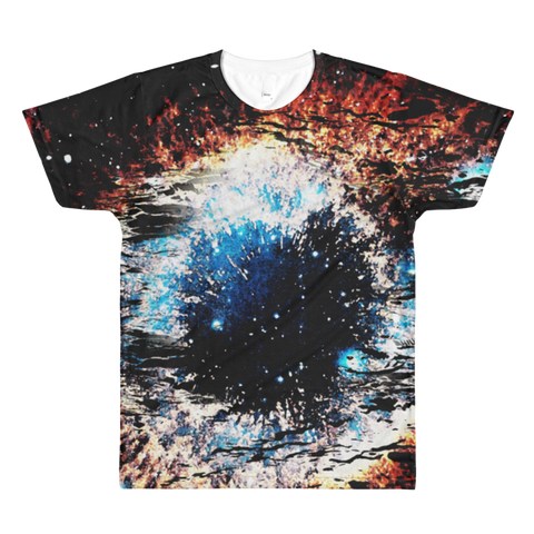 Space View Sublimation -Men's- All-Over Printed T-Shirt