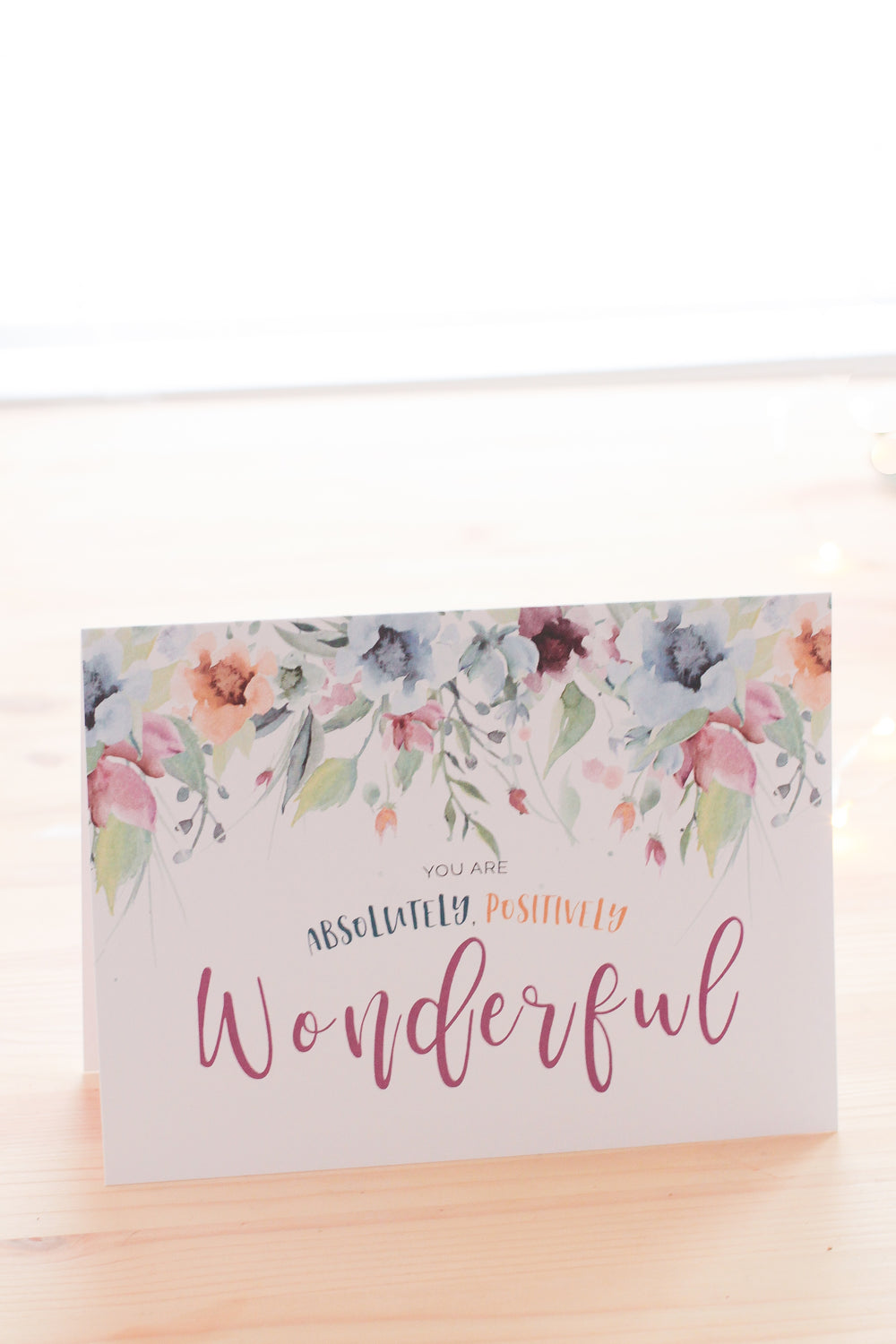 Wonderful Greeting Card