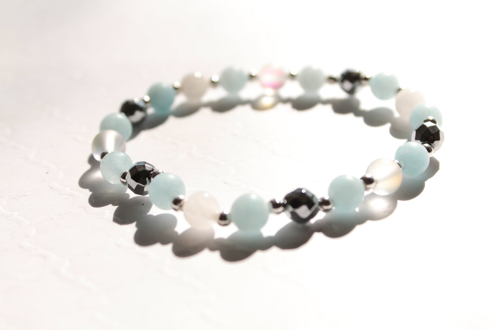 Aquamarine Machine Bracelet