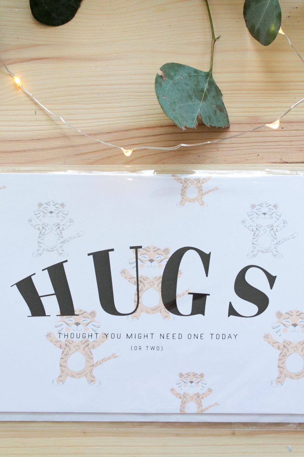Hugs Greeting Card