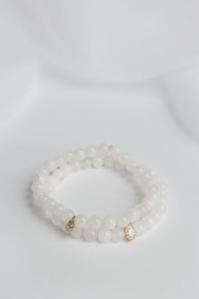 Fly Me to the Moonstone Bracelet