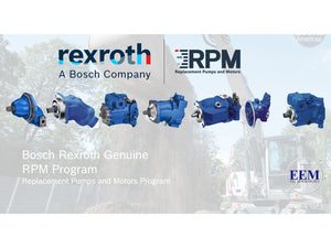 Rexroth pumps for heavy equipment