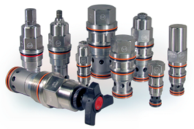 RVGALAN Ventable, pilot operated, balanced piston relief valve