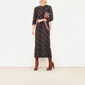 Floral long sleeve night out dress k fashion