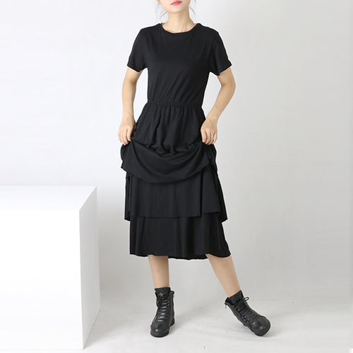 Beautiful Ugly Black Ruffles Dress Korean Fashion Kfashion Australia