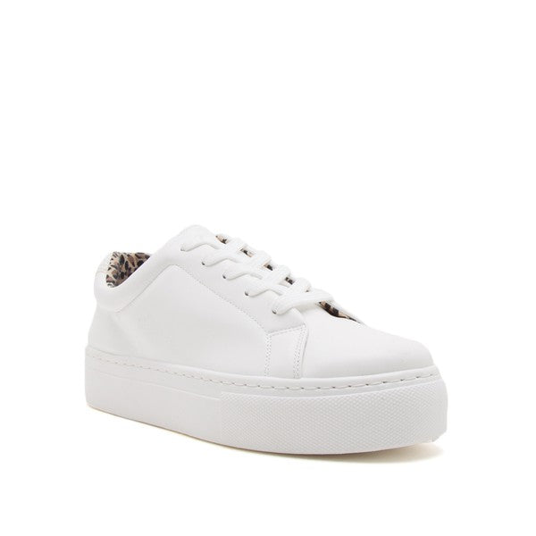 Faux Leather Sneaker
