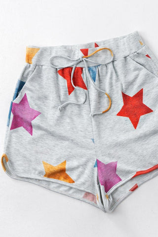 Star Graphic Shorts