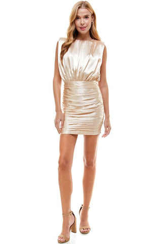The Champagne Dress
