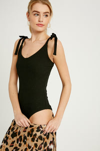 Shoulder Tie Bodysuit