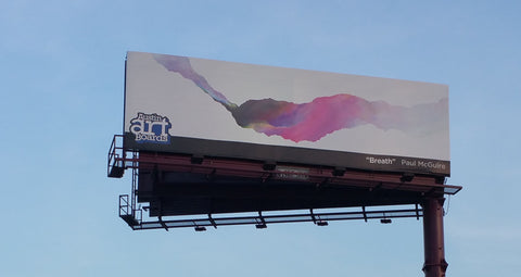 breath austin art boards billboard