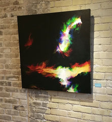 rings of fire wall art