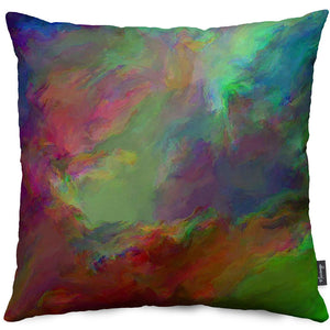 Mists of Creation Throw Pillow