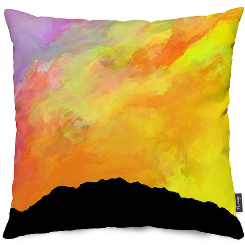 Dawn Aurora Throw Pillow