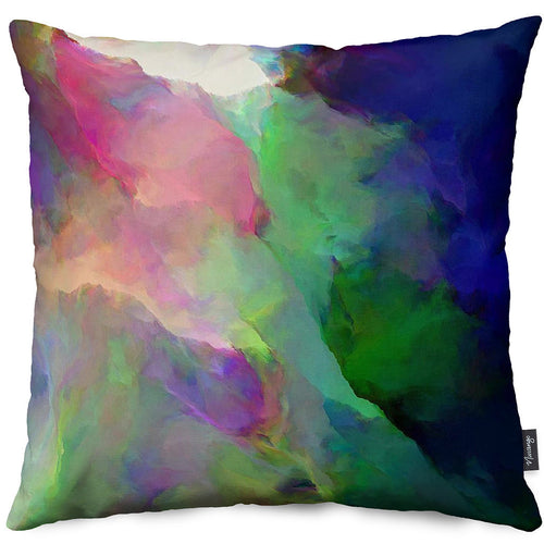 Fire Ring Throw Pillow