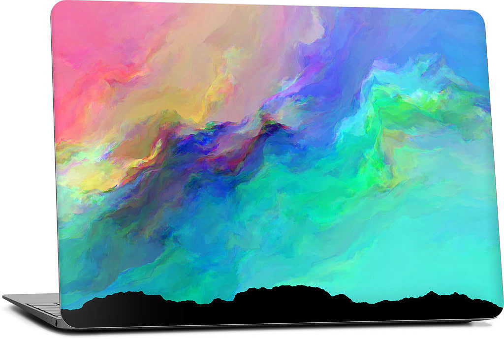 Night Aurora Laptop Skin