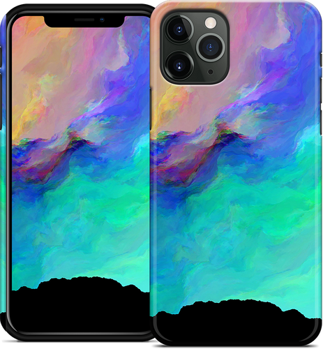 Night Aurora iPhone Case
