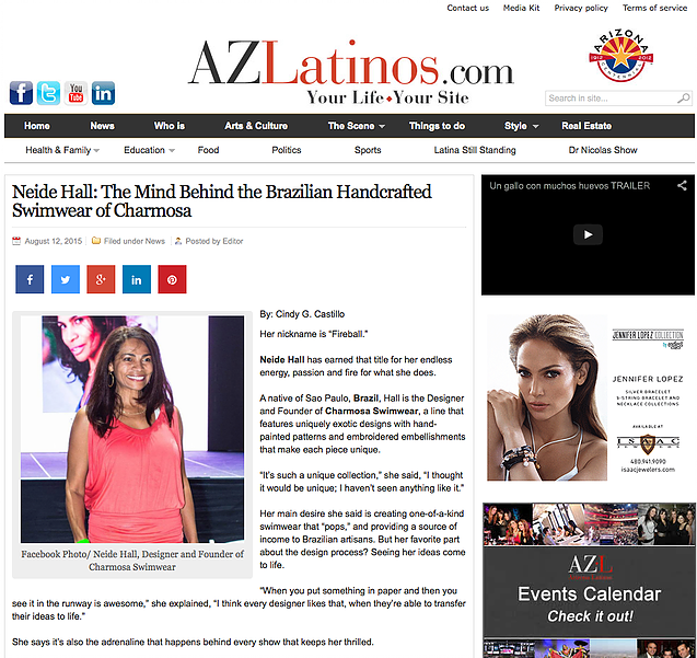 Interview in AZLatinos