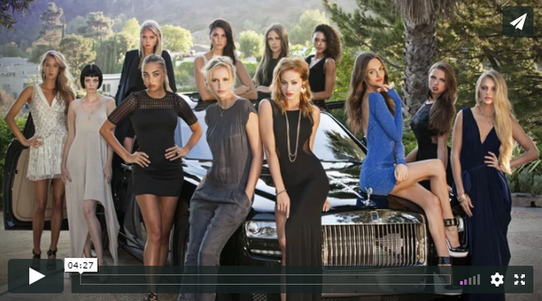 Charmosa Swimwear featured in Model Turned Superstar Trailer!!
