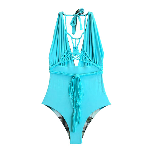 Camille Aruba/Turquoise One Piece