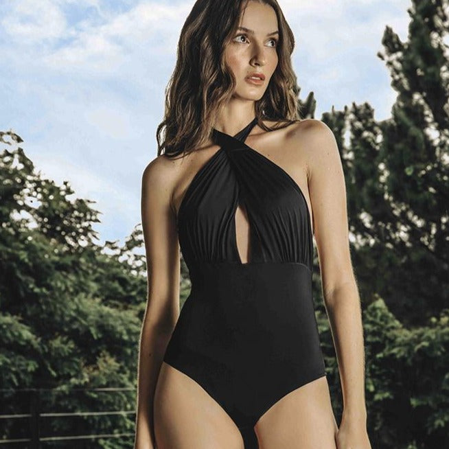 Camille One Piece - off white / black