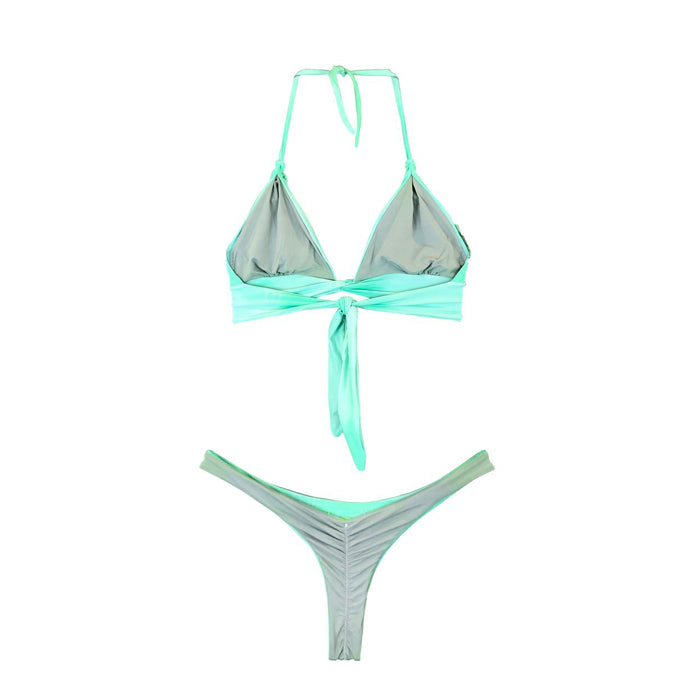 Amanda and Fluflu Bikini - Mint / Silver