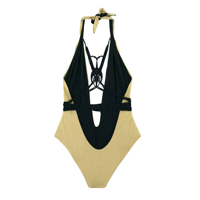 Bia Gold/Black One Piece
