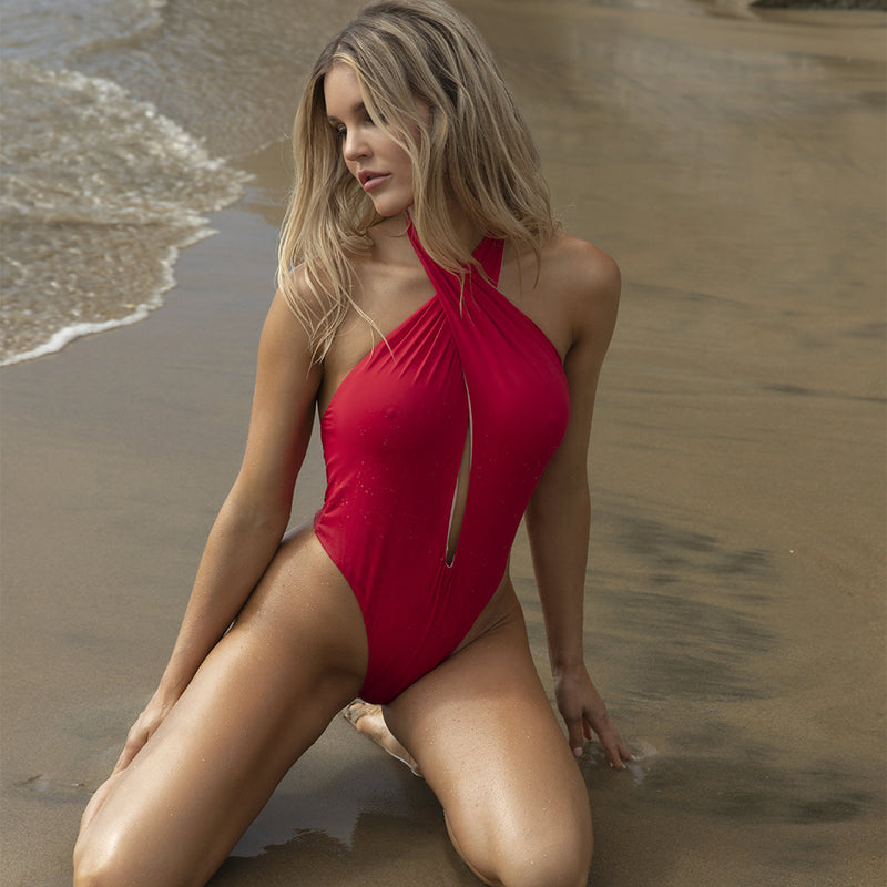 Bia One Piece - Red / Rose