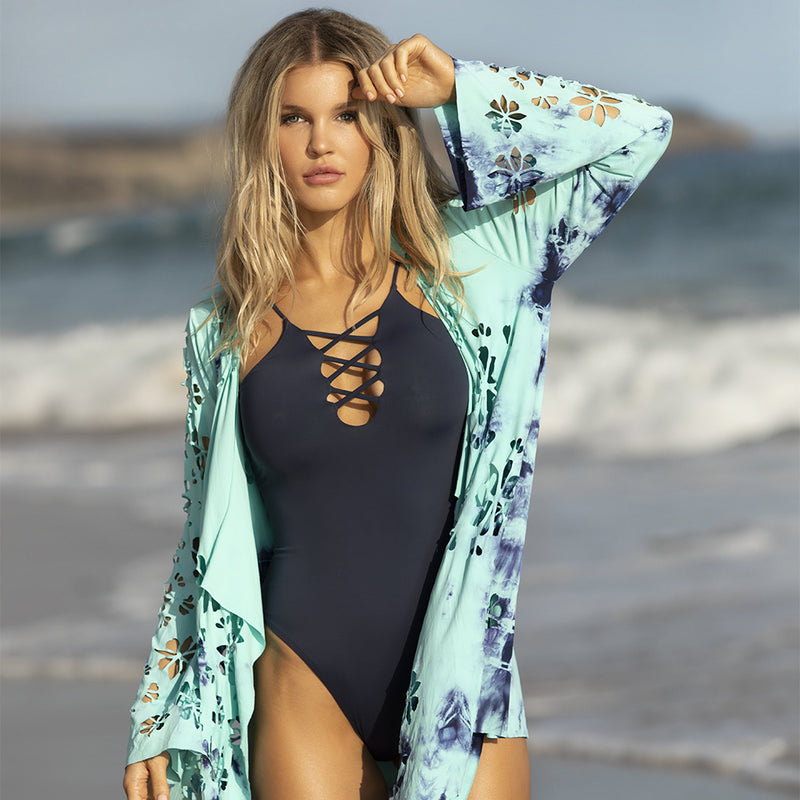 Cléo One Piece - Navy / Aruba