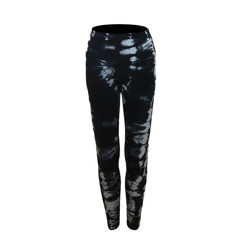 Judy Legging - Black Hand Dyed and Natier Hand Dyed