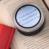 LED Dome Magnifier for Reading 5x