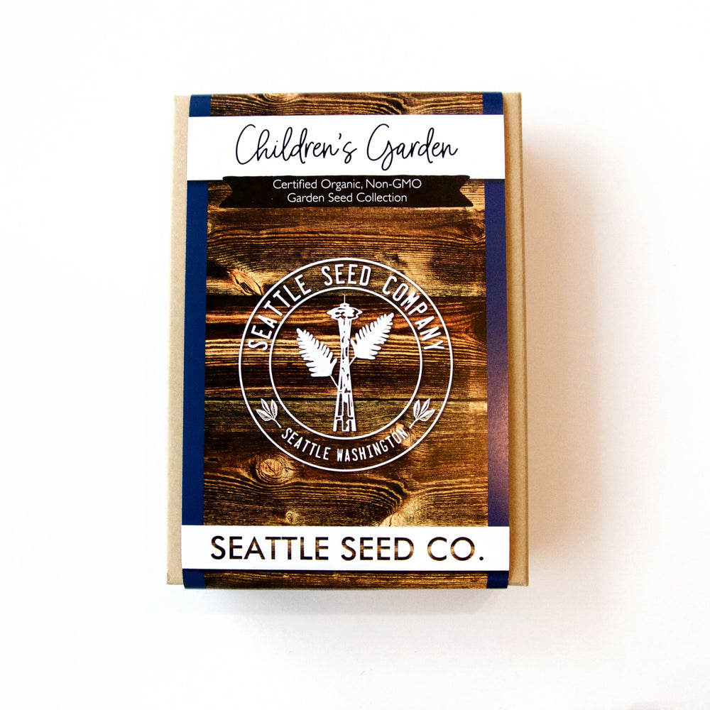 Seattle Seed Co. - Organic Seed Collection - Children's Garden
