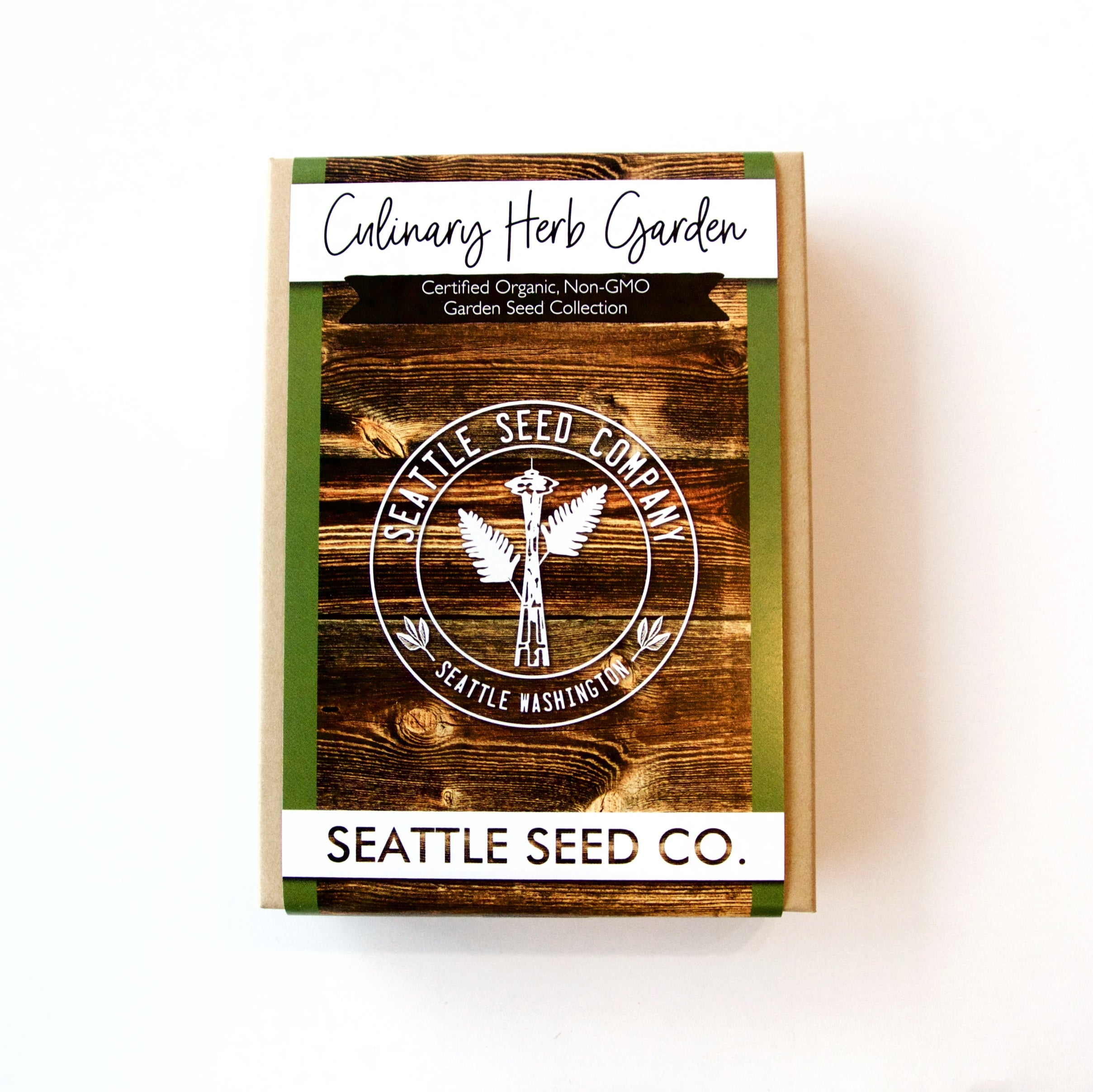 Seattle Seed Co. - Organic Seed Collection - Culinary Herb Garden