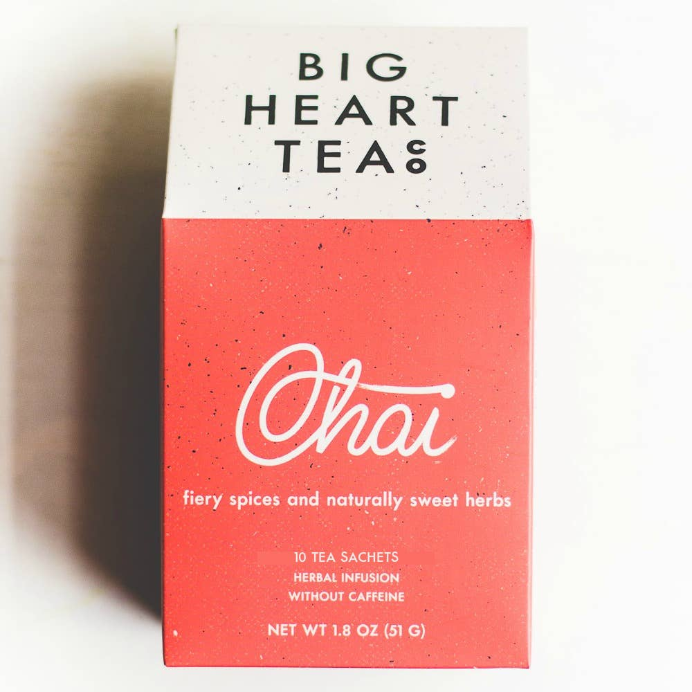 Big Heart Tea Co. - Chai Tea Bags