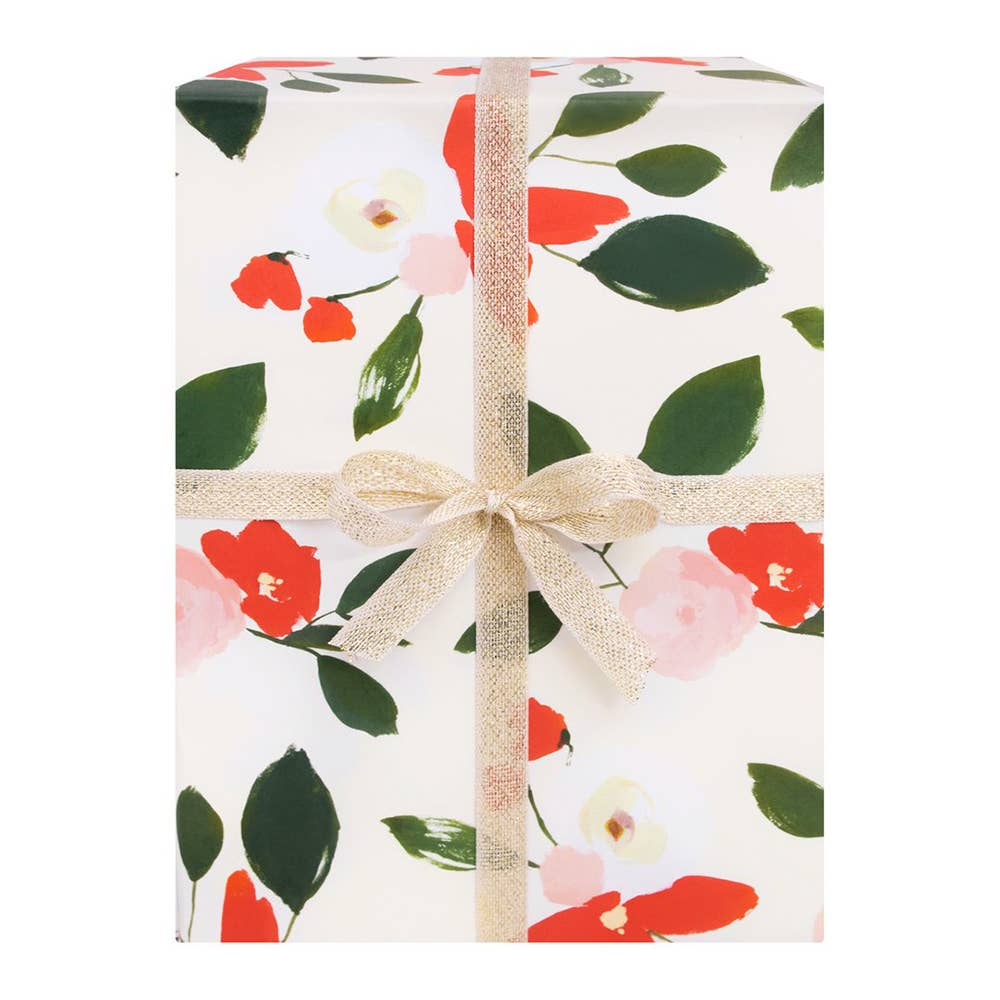 Our Heiday - Holidays Florals Gift Wrap (Roll)