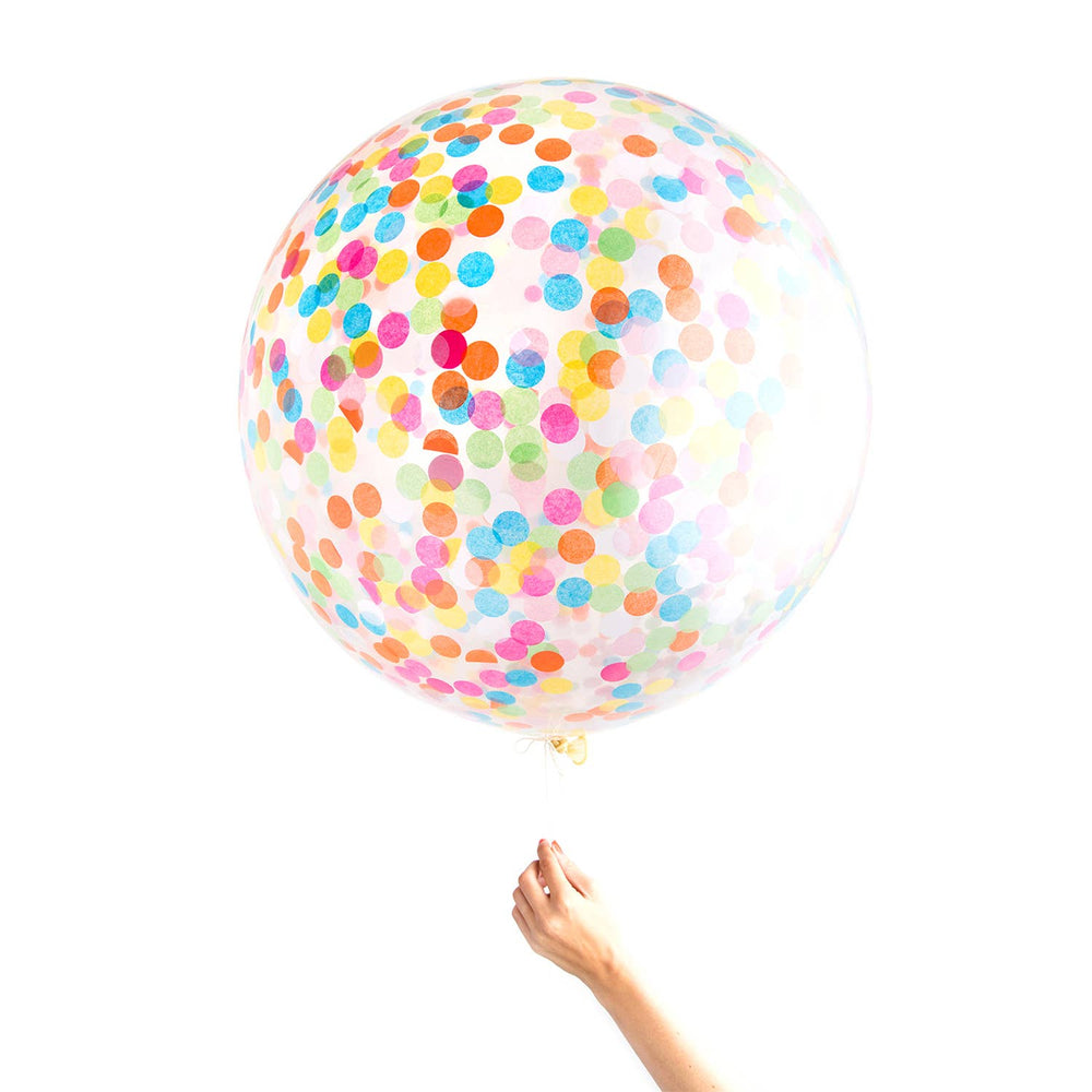 Knot & Bow - Assorted Jumbo Confetti Balloon